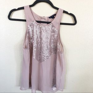 American Eagle Outfitters Sheer Tank Top